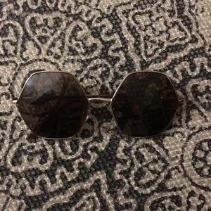 Hexagon Sunglasses from Urban Outfitters